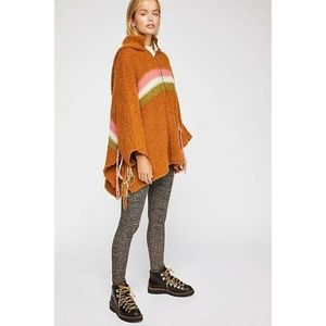 New Free People Desert Sunrise Poncho $228 XS/S